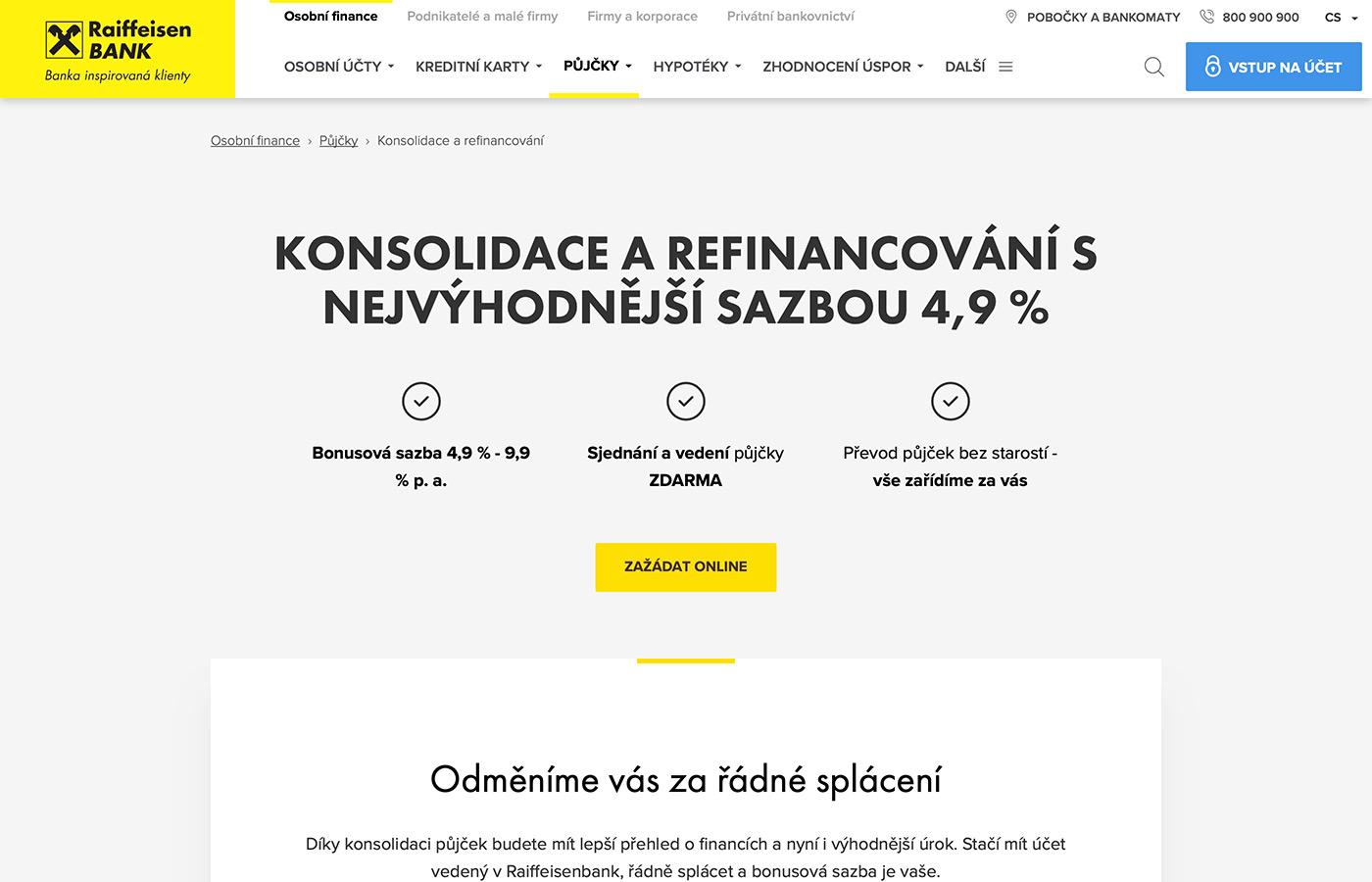 Webové stránky https://www.rb.cz/osobni/pujcky/prevedeni-a-slouceni-pujcek