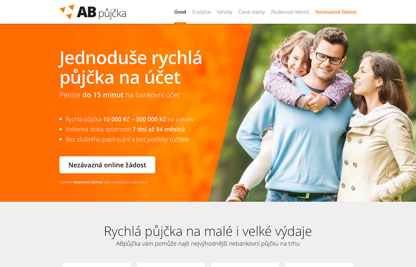 Webové stránky https://www.abpujcka.cz