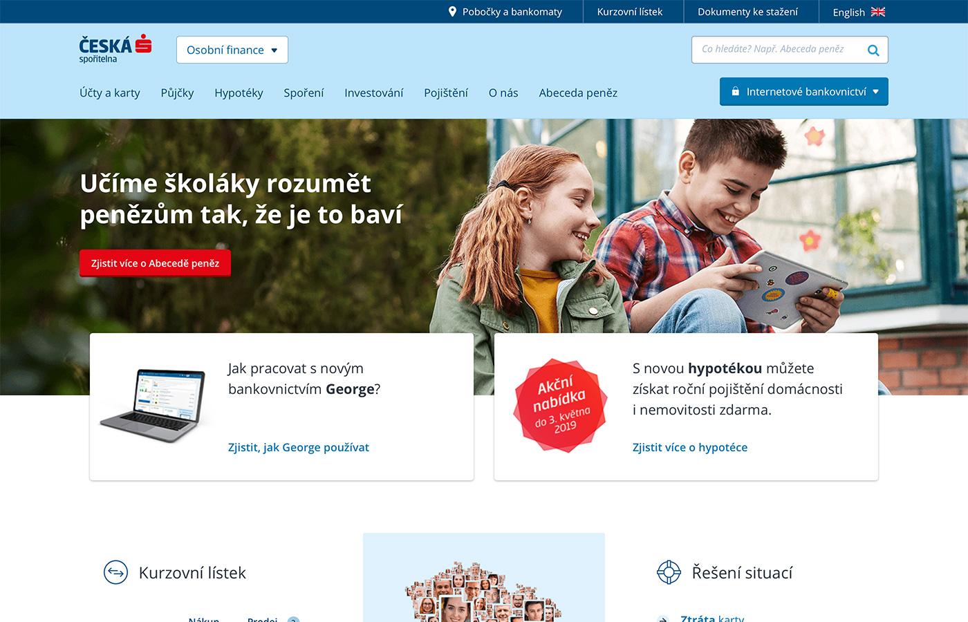 Webové stránky https://www.pujckacs.cz