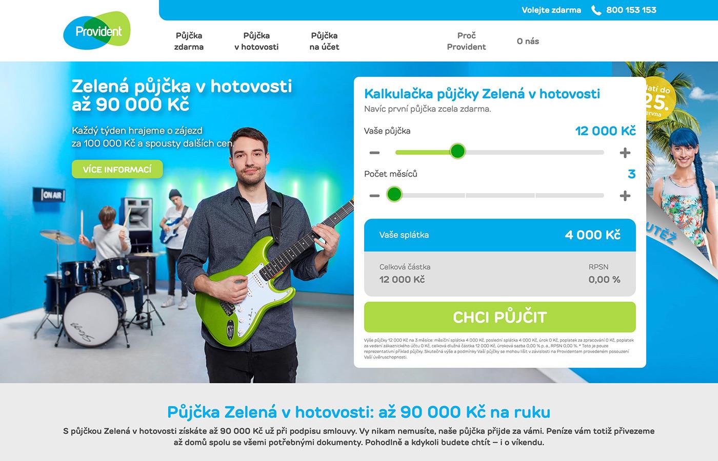 Webové stránky https://www.provident.cz/pujcky/pujcka-v-hotovosti