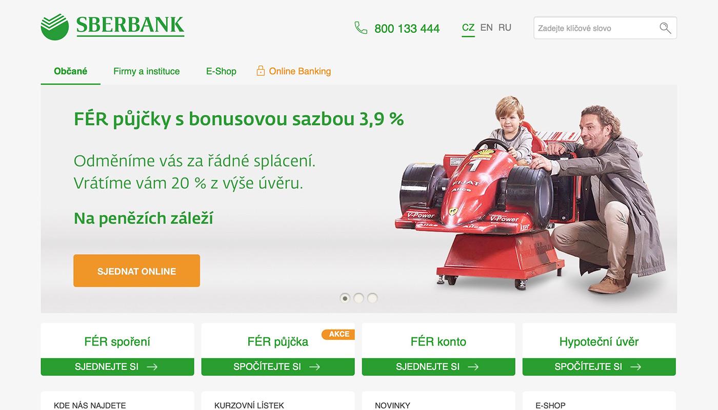 Webové stránky https://www.sberbankcz.cz/obcane/hotovostni-pujcky