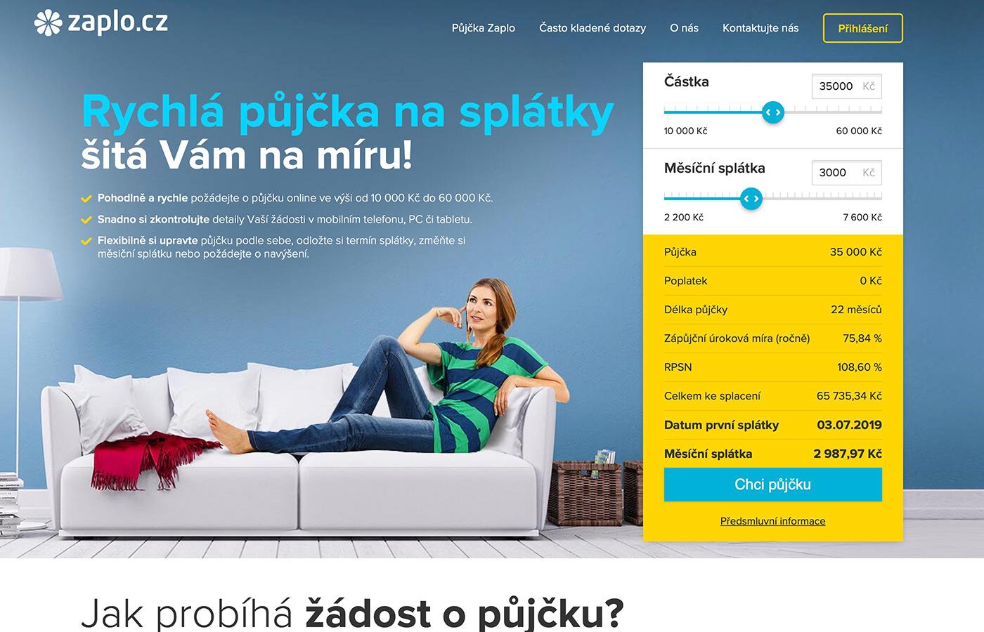 Webové stránky https://www.zaplonasplatky.cz